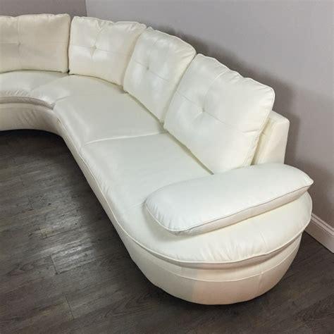 ivory leather sectional ivory leather sectional sofa