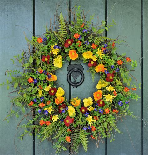 spring wreath for front door 15 joyful handmade spring wreath ideas to decorate your