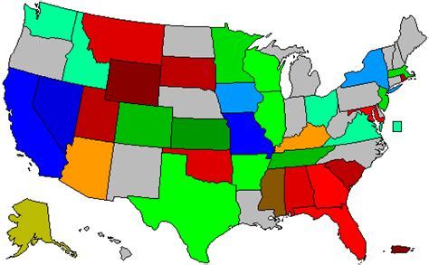 us map governors 2008 us governors map graphic cdoovision