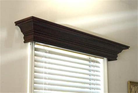 Wood Valances For Windows Decor Ashland Wood Cornice From Design The Space
