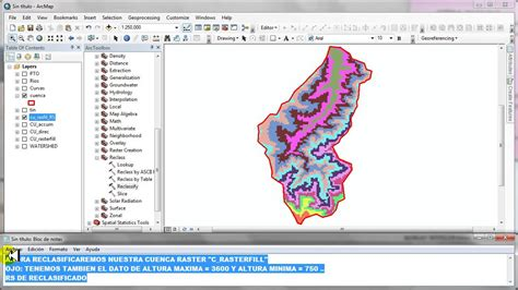 Arcgis Swat Tutorial | tutorial paramentros geomorfologicos funnycat tv