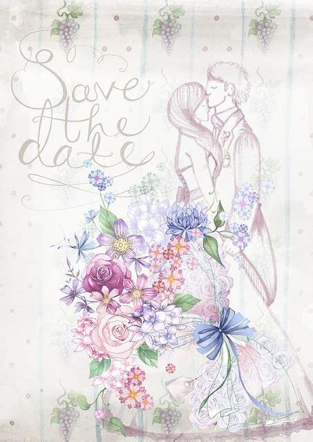 pernikahan undangan bunga gambar gratis  pixabay