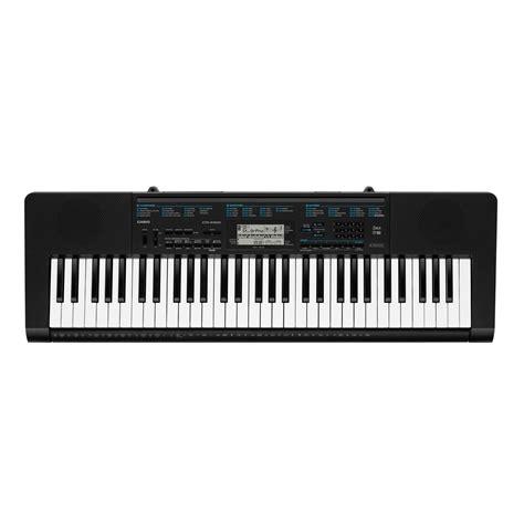 Keyboard Casio 3 Jutaan Casio Ctk 2300 Portable Keyboard Black At Gear4music
