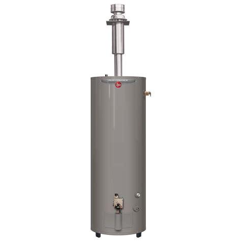 Water Heater Rheem rheem performance 40 gal 6 year 30 000 btu direct