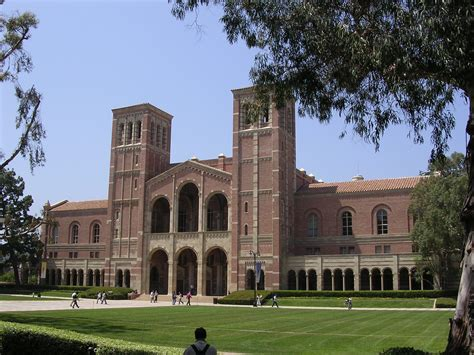 California Los Angeles Mba Reuirments by Ucla Cus Map Dickson Plaza