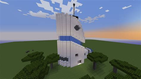 Modern Houses Minecraft Futuristic House Based On A Drawing I Did A While Ago
