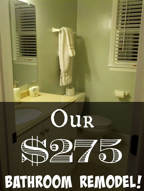 our 275 diy bathroom remodel debt roundup