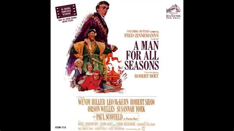 a man for all a man for all seasons soundtrack opening credits youtube