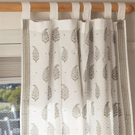 hand printed curtains nina paisley hand block printed voile curtains torna lucia