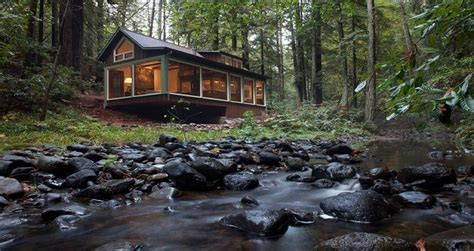 take a look what s inside this dreamy forest house i m