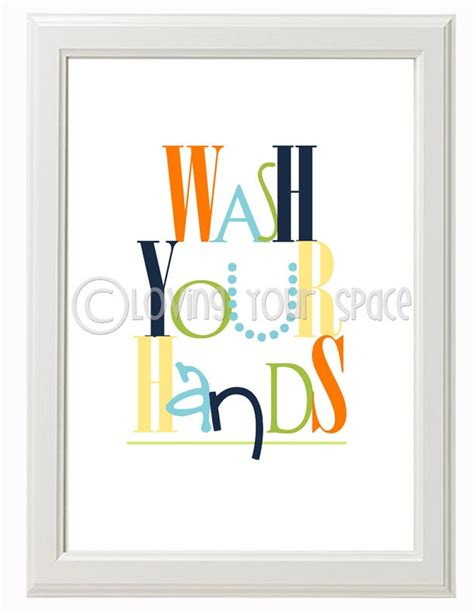 free printable wall art set printable kids bathroom wall art set of 3 2 8x10 1 5x7