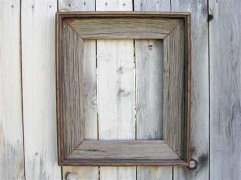 reclaimed wood frames rustic reclaimed wood frame empty wood frame rustic wood decor barn wood frame 58 00 via