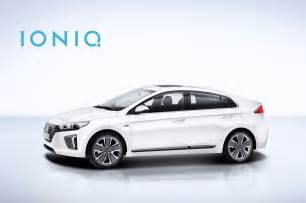 Hybrid Hyundai Hyundai Reveals More Details On Ioniq Hybrid