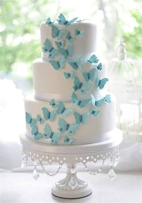 Butterfly Wedding Cake by Butterfly Wedding Ideas That Will Make Your Skip A Beat