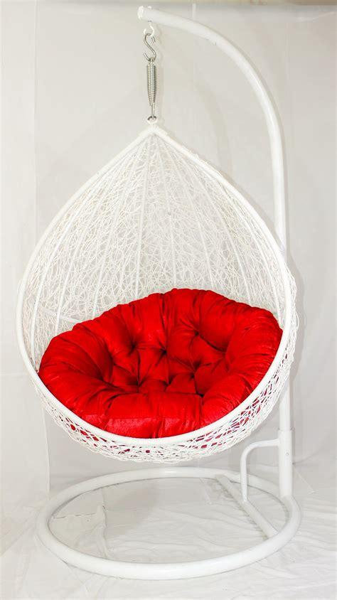 carry bird white colour beautiful swingjhula  red