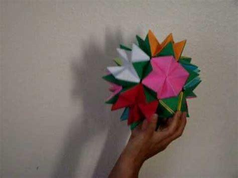 Revealed Flower Origami - revealed flower origami