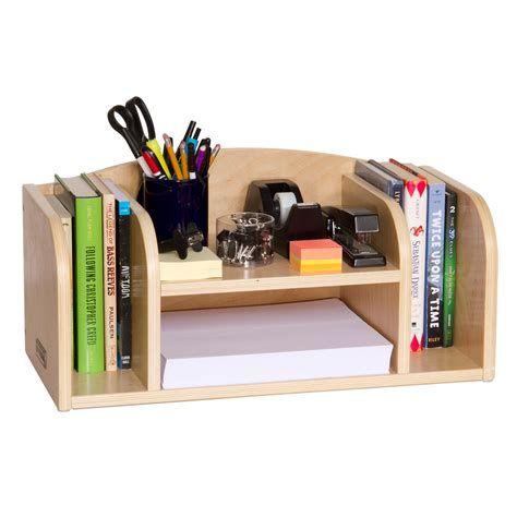 Desk Storage Accessories Guidecraft Low Desk Organizer Office Desk Accessories At