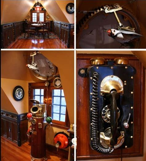 steam punk home decor steunk decor home pinterest