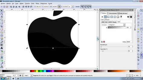 crear imagenes vectoriales online inkscape creando logo apple youtube