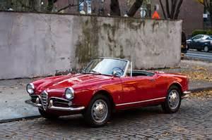 Alfa Romeo Spider Just Listed 1962 Alfa Romeo Giulietta Spider Veloce