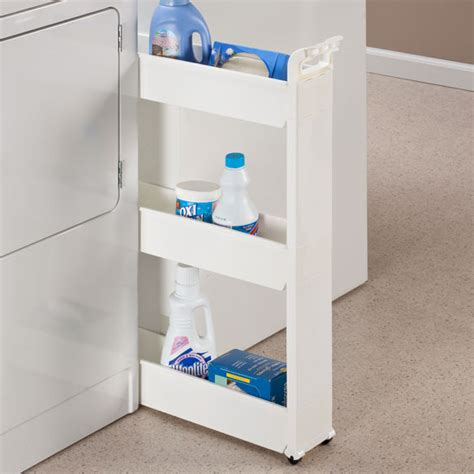 Organize Your Home Office by Slim Storage Cart Rolling Cart Storage Carts Walter