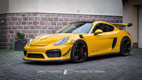 Porsche 718 Gt4 by Porsche 718 Cayman Gt4 Rs Will Come Extremely Soon