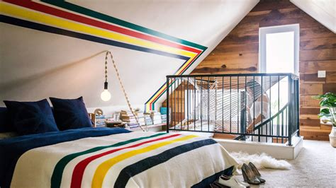 before after serene attic bedroom makeover idea decorating envy ideas for a finished attic sunset