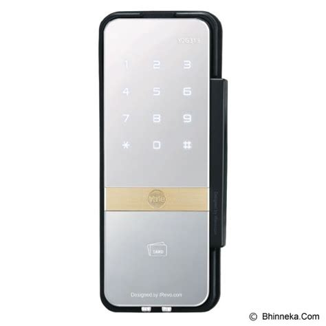 Kunci Digital Yale Ydd 324 jual yale digital door lock ydr323 murah bhinneka