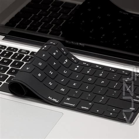 Solid Color Silicone Keyboard Cover Protector Skin For Macbook Air macbook keyboard covers solid color kuzy products