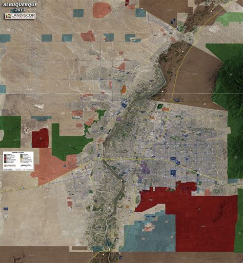 wall map mural albuquerque aerial wall mural landiscor real estate mapping