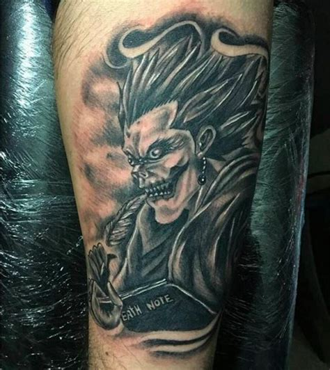 tattoo nightmares angel of death 17 badass quot death note quot tattoos that will give you