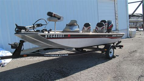 used bass tracker boats in ky tracker pro team 165 bass boats used in nicholasville ky
