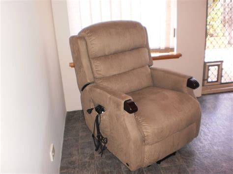 Lazy Boy Vibrating Recliner by Power Massager Brown Recliner Cup Holder Electric Lazy Boy