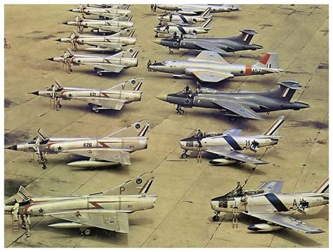 african air force base plaits line up of saaf aircraft in 60s livery mirage iii cz and