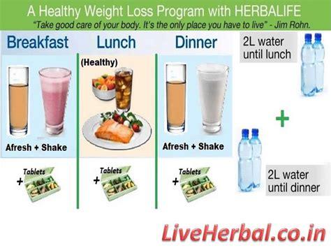 Herbalife Detox Diet Plan by Losing Weight Herbalife Weight Loss Program Explained