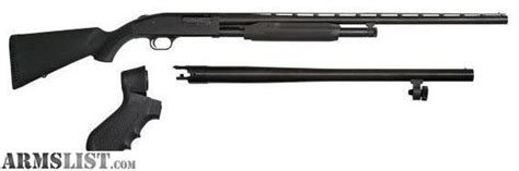 armslist for sale trade mossberg best combo shotgun 18