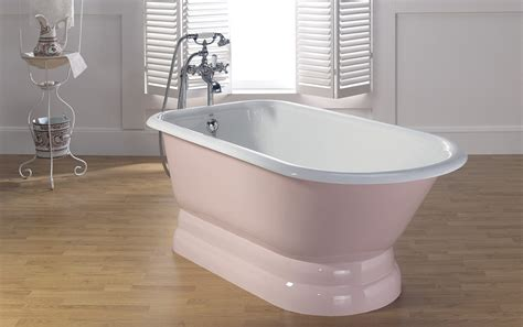 bathtubs cast iron traditional cast iron tub with pedestal base cheviot