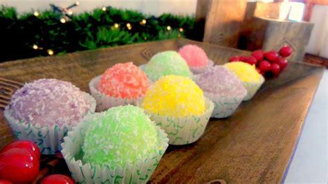 imagenes navideñas faciles de hacer bolas de coco navide 241 as postres f 225 ciles recetas navidad