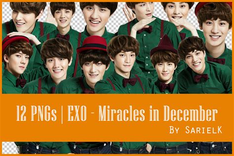 free download mp3 exo miracles in december png exo miracles in december by sarielk on deviantart
