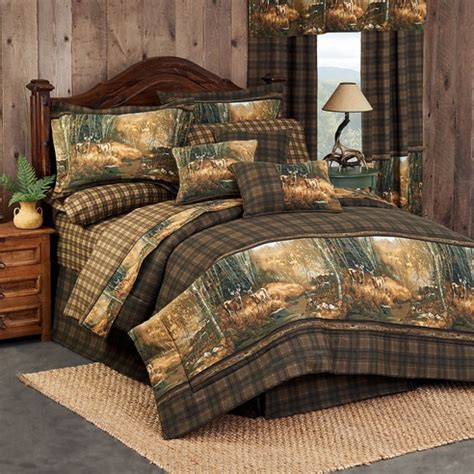 deer bedding set whitetail birch by blue ridge trading beddingsuperstore com