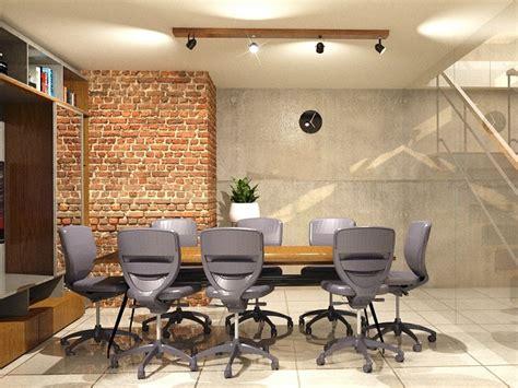 ruang kerja industrial desain interior ruang kerja