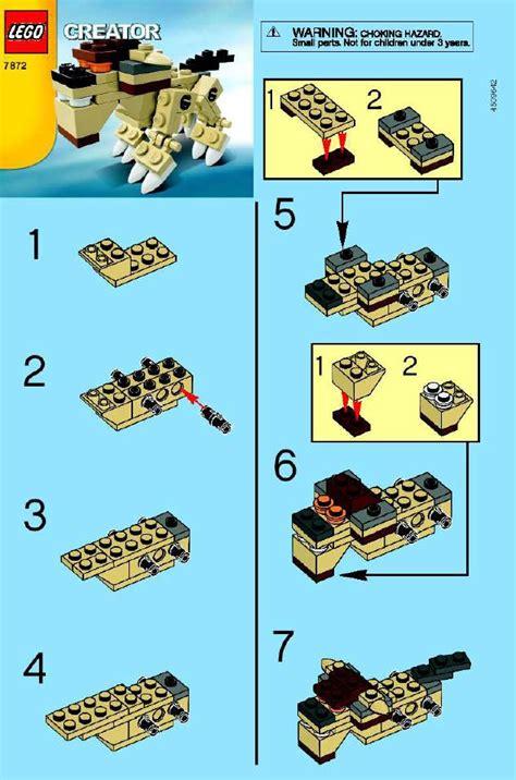 printable lego animal instructions lego animal instructions