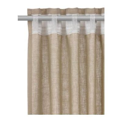 ring curtains ikea how to hang ikea aina without rod and rings no pole top