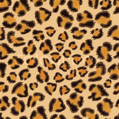 pattern leopard vector leopard seamless pattern stock vector colourbox