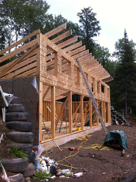 tiny homes on foundations framework of the house in our climate we decided to