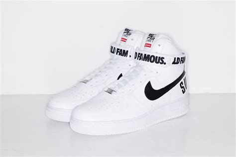 supreme nike air 1 supreme x nike 2014 fall winter air 1 high