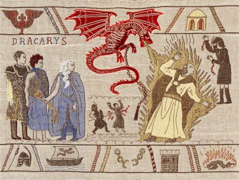 Tapisserie De Bayeux Histoire by Une Tapisserie De Bayeux Raconte L Histoire De La S 233 Rie