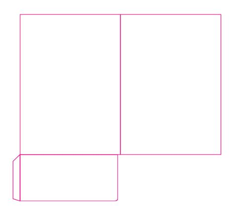 card a4 template presentation folder templates