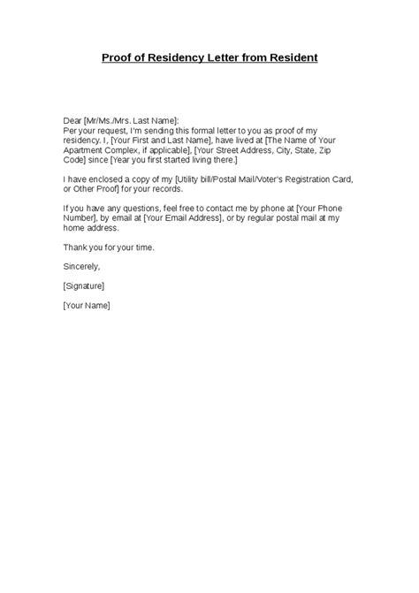 proof of address letter letters font