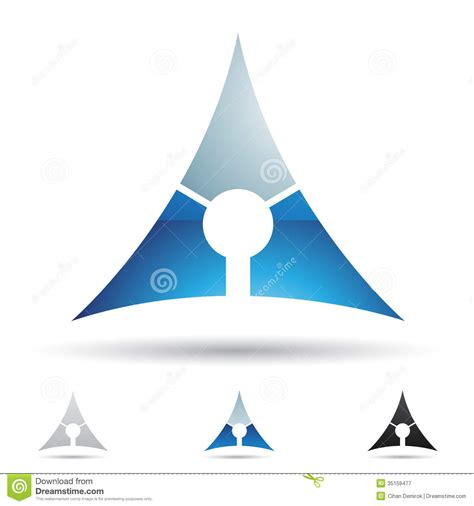 abstract icon stock image image 35579161 abstract icon for letter a royalty free stock photography